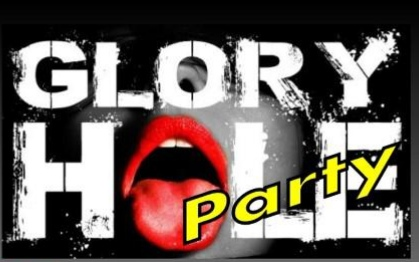 Glory Hole Party in Leipzig's Eroticworld